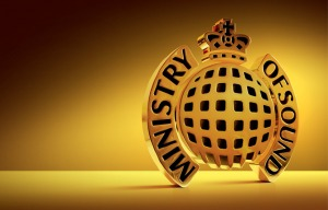 Ministry of Sound gold logo
