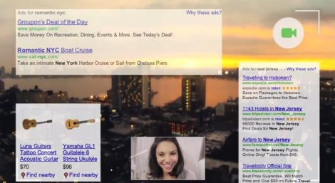 Google Glass ads - sunset